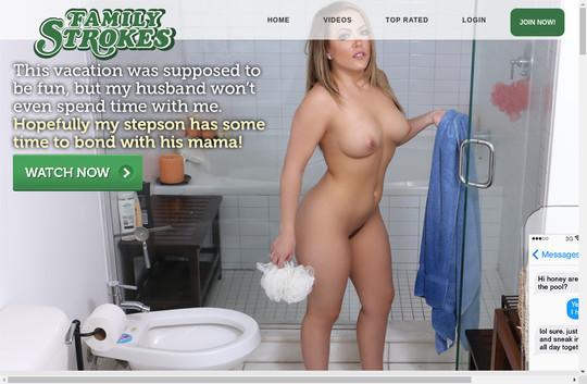 Strokes free porn family Free Family